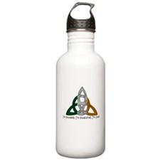 imtroubledwhite.png Water Bottle