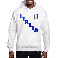 Italia Forza Azzurri 2 side print Hoodie