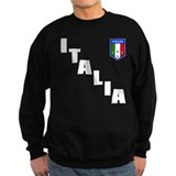 Italia Forza Azzurri 2 side print Jumper Sweater