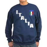 Italia Forza Azzurri 2 side print Sweatshirt