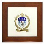 GOGUEN Family Crest Framed Tile