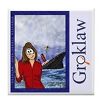 Groklaw SCO Sinks Tile Coaster