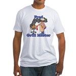 Grill Master Fred Fitted T-Shirt