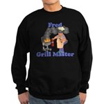 Grill Master Fred Sweatshirt (dark)