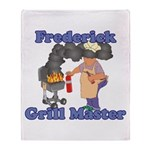 Grill Master Frederick Throw Blanket