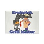 Grill Master Frederick Rectangle Magnet