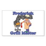 Grill Master Frederick Sticker (Rectangle)
