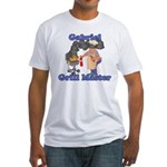 Grill Master Gabriel Fitted T-Shirt