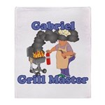 Grill Master Gabriel Throw Blanket