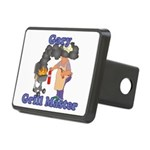 Grill Master Gary Rectangular Hitch Cover