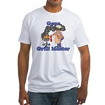 Grill Master Gene Fitted T-Shirt