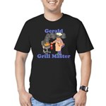 Grill Master Gerald Men's Fitted T-Shirt (dark)