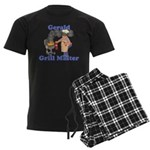 Grill Master Gerald Men's Dark Pajamas