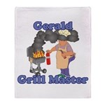 Grill Master Gerald Throw Blanket