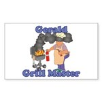 Grill Master Gerald Sticker (Rectangle)