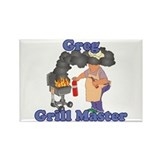 Grill Master Greg Rectangle Magnet