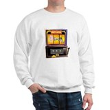 &quot;Mutt Lover Slot Machine&quot; Sweatshirt