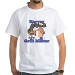 Grill Master Harvey White T-Shirt