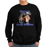 Grill Master Harvey Sweatshirt (dark)