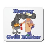 Grill Master Harvey Mousepad