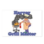 Grill Master Harvey Postcards (Package of 8)