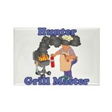Grill Master Hunter Rectangle Magnet