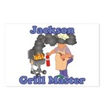 Grill Master Jackson Postcards (Package of 8)