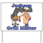 Grill Master Jackson Yard Sign