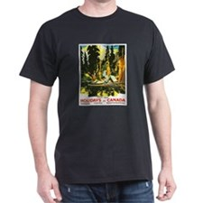 Canada Travel Poster 9 T-Shirt