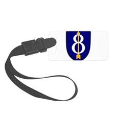 8th Infantry Luggage Tag