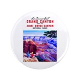 "Utah Travel Poster 1 3.5"" Button (100 pack)"
