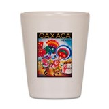 Mexico Travel Poster 5 Shot Glass