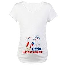 4th of July Little Firecracker Shirt