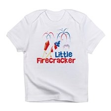 4th of July Little Firecracker Infant T-Shirt