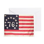 Flag of Bennington III.psd Greeting Card