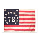 Flag of Bennington III.psd Postcards (Package of 8