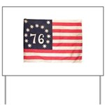 Flag of Bennington III.psd Yard Sign