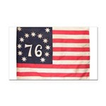 Flag of Bennington III.psd Rectangle Car Magnet