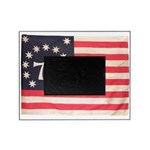 Flag of Bennington III.psd Picture Frame