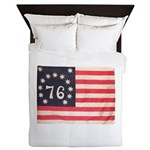 Flag of Bennington III.psd Queen Duvet
