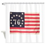 Flag of Bennington III.psd Shower Curtain