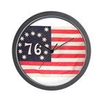 Flag of Bennington III.psd Wall Clock