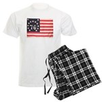 Flag of Bennington III.psd Men's Light Pajamas