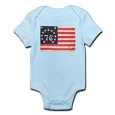 Flag of Bennington III.psd Infant Bodysuit