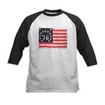 Flag of Bennington III.psd Kids Baseball Jersey