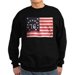 Flag of Bennington III.psd Sweatshirt (dark)