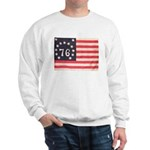 Flag of Bennington III.psd Sweatshirt