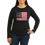 Flag of Bennington III.psd Women's Long Sleeve Dar