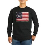 Flag of Bennington III.psd Long Sleeve Dark T-Shir