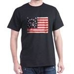 Flag of Bennington III.psd Dark T-Shirt